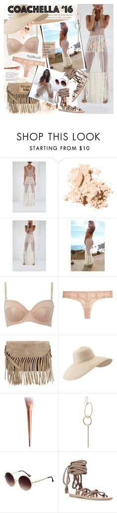 """""""Untitled #1261"""" by noviii ❤ liked on Polyvore featuring Bobbi Brown Cosmetics, STELLA McCARTNEY, Accessorize, Eric Javits, VANRYCKE and Ancient Greek Sandals"""