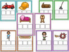 CVC Spelling Cards BUNDLE Magnetic Letters, Phonological Awareness, Short Vowels, Cvc Words, Dry Erase Markers, Phonics, Spelling, Kindergarten, Activities