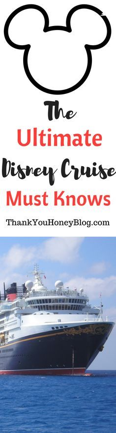The Ultimate Disney Cruise Must Knows, Packing List, Must Knows, The Ultimate Disney Cruise Must Knows, What to Pack on a Disney Cruise, Disney Cruise, Disney, Cruise, Travel, Family Travel, ThankYouHoneyBlog.com