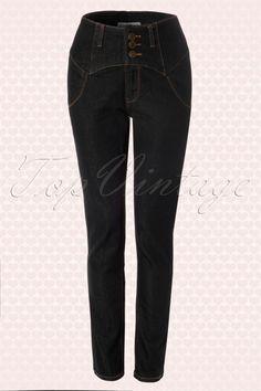 Collectif Clothing Rebel Kate Pants 131 10 14341 3