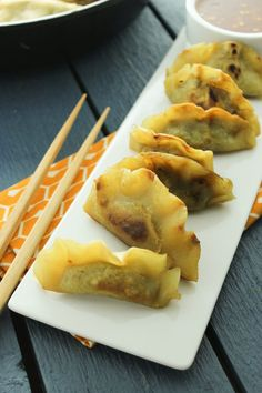 Bezglutenowy Potstickers - The Fitchen
