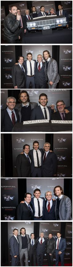 SPN cast and crew celebrates at 200th Episode party