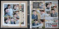 The latest Life Documented sketch and layout by Allison Davis (Scrapbook Generation) for Simple Stories. Baby Boy Scrapbook, Mini Scrapbook Albums, Scrapbook Sketches, Scrapbook Page Layouts, Scrapbook Cards, Scrapbooking Ideas, Digital Scrapbooking, Scrapbook Generation, Project Life Layouts