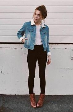 Stylish way of wearing denim jackets - Miladies.net