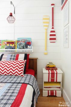 Lakehouse Decor- Kids Room