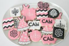 CAbi cookies by The Pink Mixing Bowl! - Would love some of these for my next party!