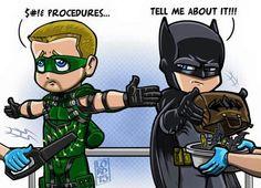 Lord Mesa-----Oliver and Batman