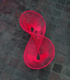 Acapulco Chair for Two by Pedro Reyes