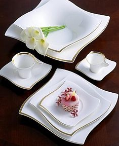 Villeroy & Boch New Wave Premium Gold Dinnerware Collection