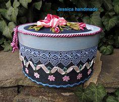 Jessicahandmade / Klobúková krabica