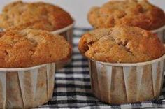 Banana Bread Muffins...I've tried this recipe without the nuts, and it is STILL fantastic!