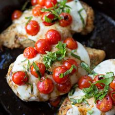 30 Minute Skillet Chicken Caprese - Life Made Simple