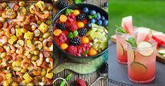 Tyhle letní recepty vás nadchnou! A perfektně se hodí pro rodinný letní oběd či večeři. Vyzkoušejte rychlé a lehké pokrmy. Fruit Salad, Hummus, Acai Bowl, Smoothies, Toast, Breakfast, Diet, Acai Berry Bowl, Smoothie