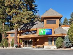 South Lake Tahoe (CA) Holiday Inn Express South Lake Tahoe United States, North America Stop at Holiday Inn Express South Lake Tahoe to discover the wonders of South Lake Tahoe (CA). Offering a variety of facilities and services, the hotel provides all you need for a good night's sleep. Free Wi-Fi in all rooms, 24-hour front desk, facilities for disabled guests, express check-in/check-out, business center are on the list of things guests can enjoy. Guestrooms are designed to p...