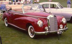 mercedes benz convertible | 1953 Mercedes-Benz 300 convertible sedan | Flickr - Photo Sharing!