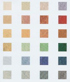 Sustainable Building Materials> Marmoleum floors by Farbo, comes in large sheets and a lot of colors