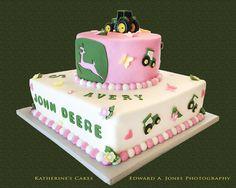 john deere birthday cakes for girls
