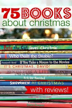 75 books about Christmas