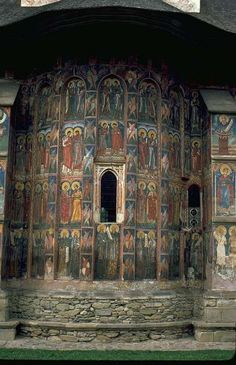 Moldavia Monastery in Romania Romania Travel, Sacred Architecture, Temple, Place Of Worship, Beautiful Buildings, Eastern Europe, World Heritage Sites, Places To See, Fresco