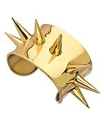 Kesha Rose by Charles Albert Gold Spike Cuff