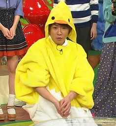 what is better than an aiba?  an aiba in a chicken onesie.