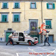 R4 fuga per la libertá street show artedistrada
