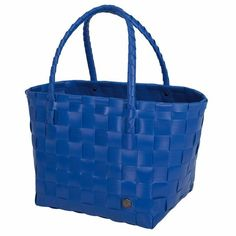 Shopper Original - Paris Kobalt blauw - Handed By