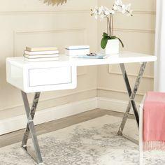 Safavieh Hanover 1 Drawer Writing Desk