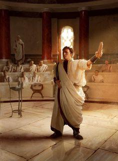 Roman Consul by Pascal Quidault Ancient Aliens, Ancient Rome, Ancient Greece, Ancient History, Roman Consul, Character Inspiration, Character Art, Rome Antique, Roman Legion