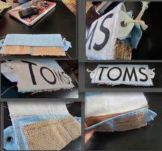 Sleepless Sophie: DIY: TOM's Flag Wallet!