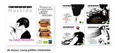 Nashido, kleine, wunderbar gefüllte Schokoladen (a.h.g.) Ecards, Memes, Schokolade, Cats, E Cards, Meme