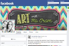 Art with Ms. Gram: Now on Facebook!