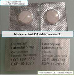 SEGURANÇA DO DOENTE: Medicamentos LASA - Mais um exemplo