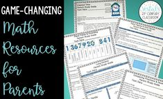 Game-Changing Math Resources for Parents explains how math parent study guides can transform your elementary math classroom and help parents with distance learning. #vestals21stcenturyclassroom #mathresourcesforparents #mathhelpforparents #mathparentstudyguides #mathstudyguides