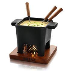 Tapas Fondue Pot Black Large, $30, now featured on Fab.