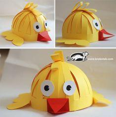Masks (hats) for kids   krokotak