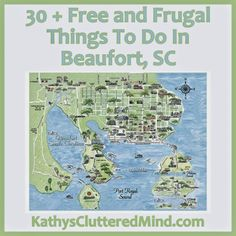 Kathys Cluttered Mind: Free and Frugal Things To Do In Beaufort, SC