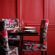 Decoracion de Interiores en Color Rojo