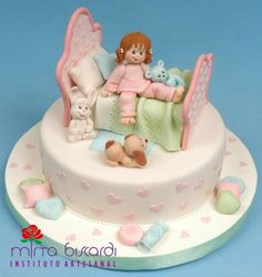 Little girl bedtime #cake.