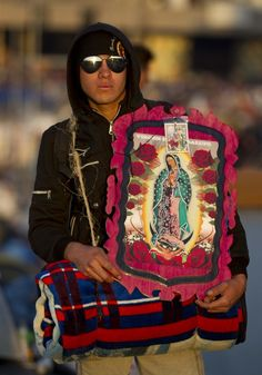 Hundreds honor Virgin of Guadalupe in Mexico City