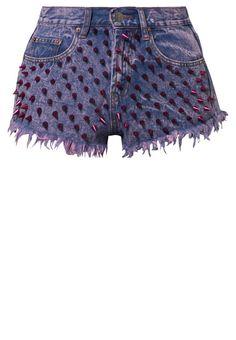 Shorts by Bitching & Junkfood @ Zalando ❤ Denim