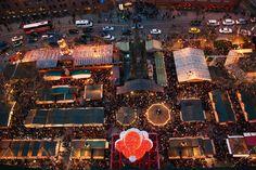 Manchester Christmas Market. More xmas markets on: http://www.europeanbestdestinations.com/christmas-markets/ #Christmas #travel #europe #market #europeanbestdestinations #Manchester Copyright Lucyb_22