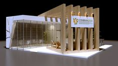 Exhibition Stall Design, Exhibition Space, Exhibition Stands, Exhibit Design, Architecture Concept Drawings, Architecture Details, Expo Stand, Interior Design Presentation, Kiosk Design