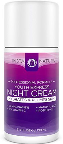 InstaNatural's Night Cream Moisturizer is a perfect anti-aging & hydrating solution. It's especially good for those looking to reduce the appearance of fine lines and... FULL ARTICLE @ http://www.sheamoistureproducts.com/store/instanatural-night-cream-best-moisturizer-for-face-with-5-niacinamide-vitamin-b3-vitamin-c-argan-rosehip-oil-natural-organic-reduces-appearance-of-acne-skin-spots-wrinkles-3-4-oz/?c=3275