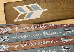 Selah Signs Custom Arrow Sign by selahcustomsigns on Etsy