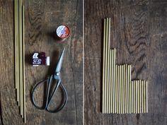 swoon studio: DIY Brass Himmeli