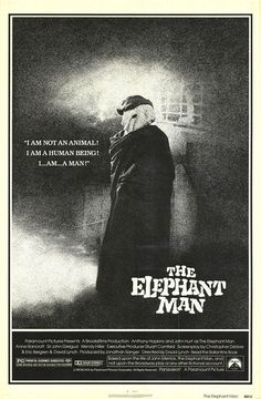 The Elephant Man (1980) GB / USA Paramount / Brooksfilms Horror D/Co-Sc: David Lynch. Exec. Prod: Mel Brooks. Ph: Freddie Francis. Anthony Hopkins, John Hurt, Anne Bancroft, Freddie Jones, John Gielgud, Hannah Gordon, Wendy Hiller, Michael Elphick, John Standing, Kathleen Byron. 11/03/15