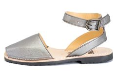 Avarca sandal.  Felt strange on my foot and looked weird as well. Very flat footbed!