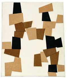 Hans Jean Arp, Construction élémentaire 1916. Source  Mick Vincenz