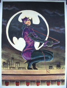 Catwoman Comic Art